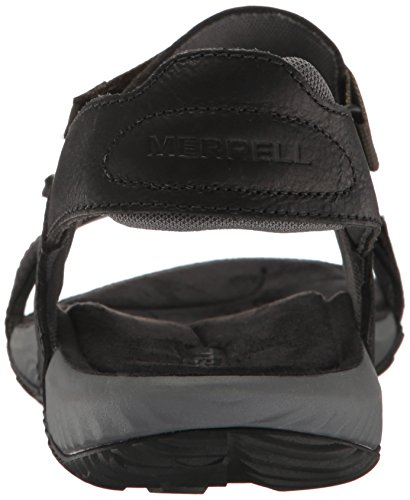 Merrell Terrant Strap, Sandales Bout Ouvert Homme Noir (Black)
