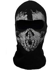 Braga de cuello, máscara, pasamontañas, diseño de calavera de Call Of Duty Modern Warfare MW, Couleur4