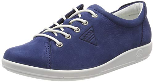 ECCO Damen SOFT2.0 Sneaker, Blau (True Navy 2048), 39 EU -