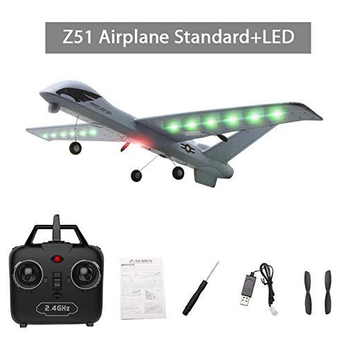 Faironly Fliegen Modell Segele RC 2.4G 2CH Predator Z51 Fernbedienung RC Spannweite Schaum Hand Werfen Segel Spielzeug e