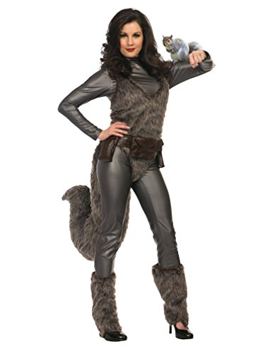 Charades Womens Premium Squirrel Girl Fancy Dress Costume Small
