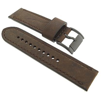 Fossil-Uhrband-Wechselarmband-LB-JR1487-Original-Ersatzband-JR-1487-Uhrenarmband-Leder-24-mm-Braun
