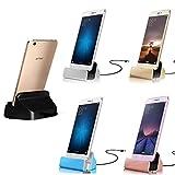 Dockingstation Ladestation Ladegerät Typ C Ladekabel USB C Rose Gold Schwarz für Samsung Galaxy S8 S9 Plus Note 7 8 A8 A3 A5 Huawei P9 P10 P20 Mate 9 lite Nova Google Pixel Sony Xperia XZ XZ1 XZ2 compact HTC U12+ U11 OnePlus 5 6 Nokia 7 8 Nexus (Schwarz)