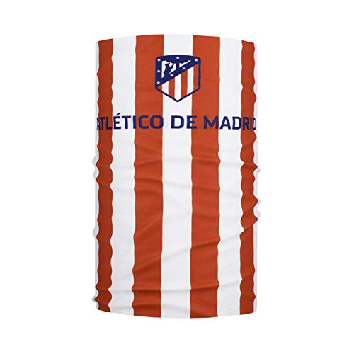 Wind X Treme Headwear Atlético De Madrid Tubular, Unisex, Rojo/Blanco, Talla...
