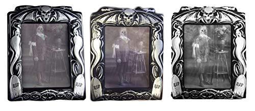 B-Creative Halloween-Foto-Set für Halloween, holografisch, verzerrt, Vintage-Dekoration