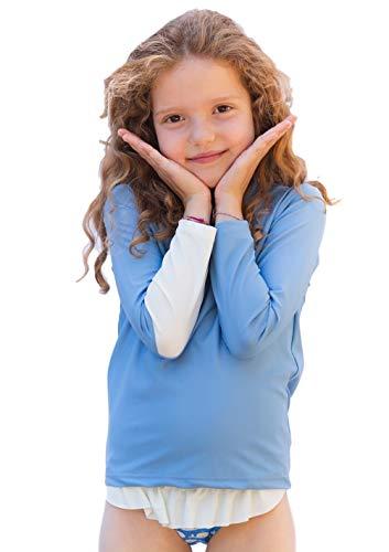 COCOI Camiseta protección Solar UPF50+ niños y niñas. Licra de baño Anti UVA. Rashguard UV De 1...