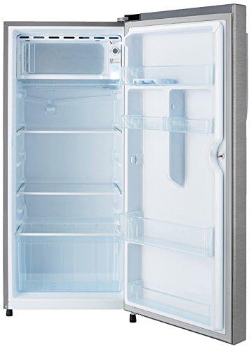 Haier-195-L-4-Star-Direct-Cool-Single-Door-Refrigerator-HRD-1954BS-EHED-20FDSBrushed-SilverDazzle-Steel