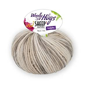 PRO LANA Sheep Color Woolly Hug´S - Farbe: 87 - 50 g / ca. 110 m Wolle