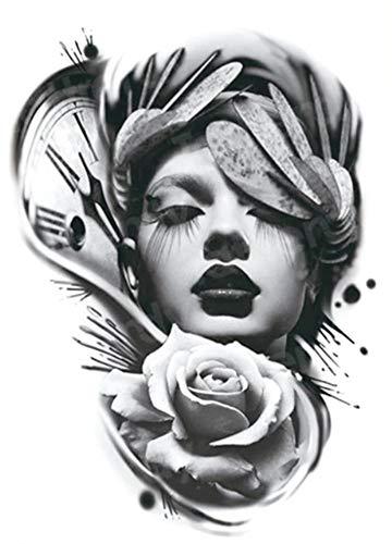 EROSPA® Tattoo-Bogen temporär - Oberarm - Frauen Männer - Wasserfest