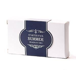 Mystic Moments Duftöl Starterpacket – Sommer Öle – 5 x 10ml