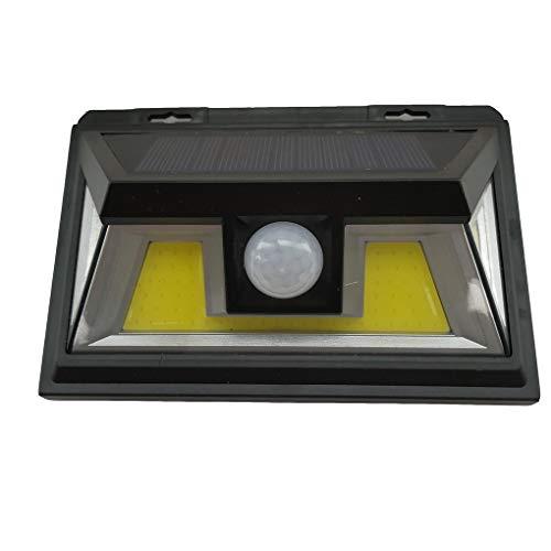 FloralLive 34 COB-Sonnenenergie-Licht Menschen Infrarot-PIR Bewegungs-Sensor-Wand-Lampe wasserdichte IP65 Outdoor Security Nachtlicht -