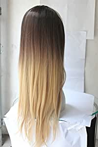Extension per capelli con chiusura a clip, pezzo singolo con 5 clip