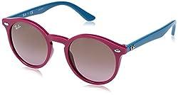 Ray-Ban Gradient Phantos Unisex Sunglasses - (0RJ9064S70191444 44 Violet Gradient Brown Color)