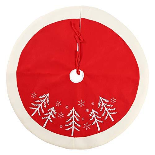 Burysez Delantal falda árbol Navidad tira lazo Decoraciones