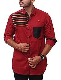 PP Shirts Men Kutchi Woven Partywear Shirt