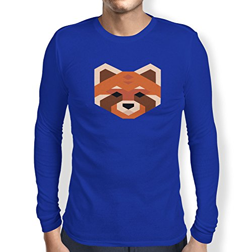 TEXLAB - Simple Paws - Herren Langarm T-Shirt Marine