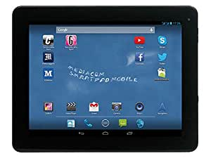 "Mediacom 9.7 Mobile Tablette Tactile 9.7 "" Android Noir, Argent"