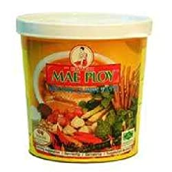 Yellow Curry Paste, Mae Ploy, 400g