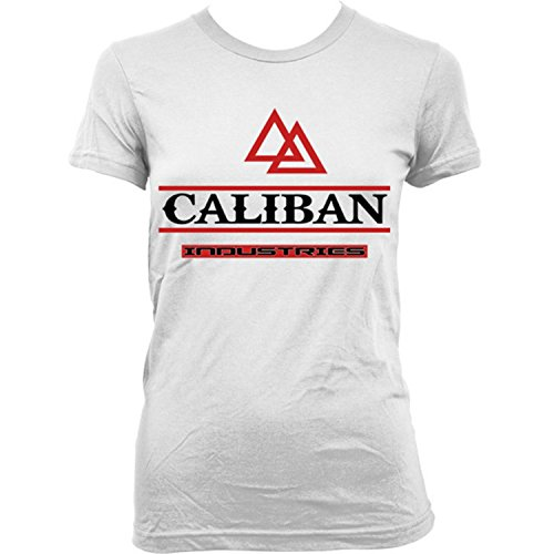 9045Lw Caliban Industries Donna T-Shirt Blade I II Sci-Fi Horror Future Zombie(X-SmallWhite)