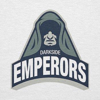 TEXLAB - Darkside Emperors - Herren T-Shirt Weiß
