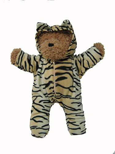 Lulas Workshop Soft (Light) Tiger Onesie Suitable for 16