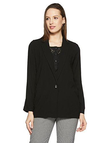 Forever 21 Women's Jacket (00198536032_0019853603_ BLACK_2/S)