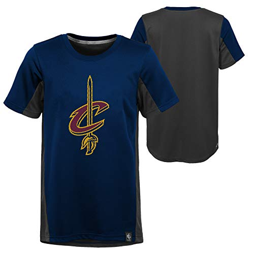 NBA Jungen Sport Top Cleveland Cavaliers, Blau (Navy/Grey/Burgundy Ngb), S - 8