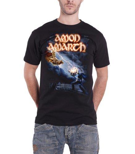 Amon Amarth - Top - Maniche corte  - Uomo nero Large