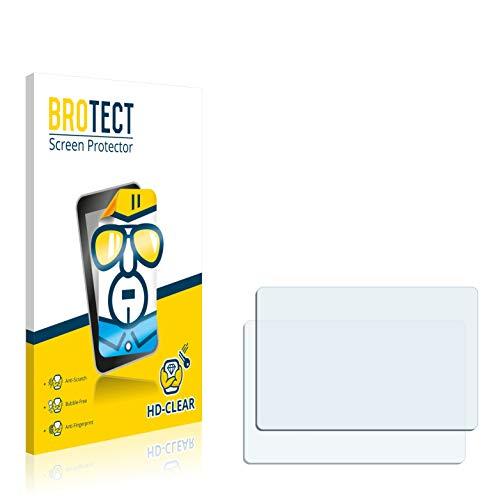 BROTECT Schutzfolie kompatibel mit Garmin Forerunner 201 [2er Pack] - klarer Displayschutz Forerunner 201 Gps