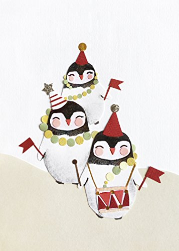 Tigerlily, Pinguin Parade, Weihnachtskarte, Merry Christmas, Pinguine