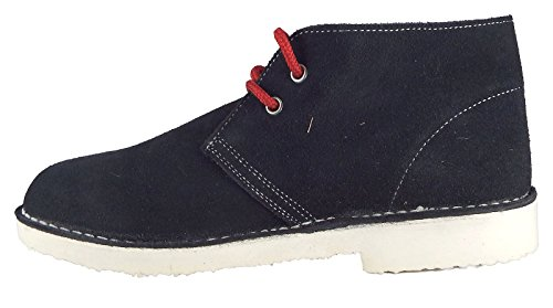 Roamer Men's 2 Eyelet Desert BootOlympic Limited Edition Blu (Navy scuro)