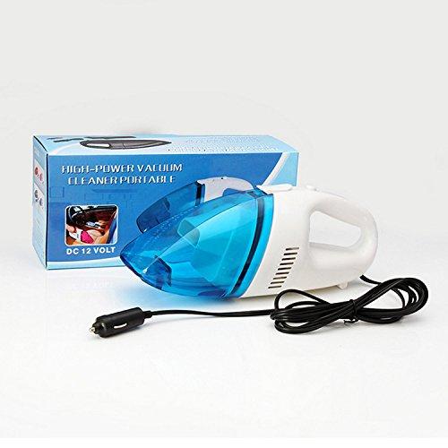 Ocamo Mini High-Power Hand Auto Staubsauger Auto Reinigung Werkzeug blau/weiß - Blau Bagless Staubsauger