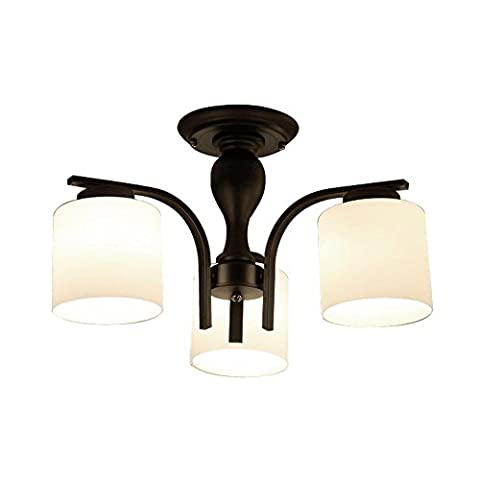 LED 3 Light Chandelier Modern Contemporary Painting Feature Metal Living Room Bedroom Dining Room