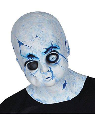 Zerbrochene Puppe Maske Fasching Karneval Kostüm - Zerbrochene Puppe Kostüm
