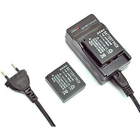 Mondpalast ® reemplazo DMW-BLG10 BLG10 BLG10PP BLE9E 940mAh Li-ion Batería + cargador EU para Panasonic Lumix DMC GM5 LX100K LX100S LX100 GM5K GX7 GX7KS GF6KK GF6
