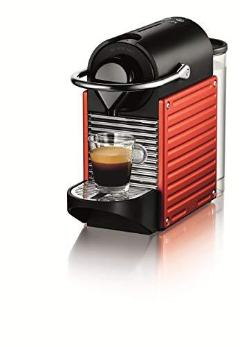 Nespresso Pixie XN3006 Cafetera monodosis de cápsulas, 19 Bares, Apagado automático, 1260 W, Naranja