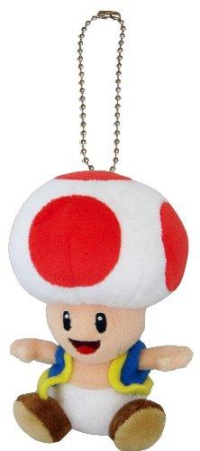 Super Mario Plüschanhänger Schlüsselanhänger: Toad ()