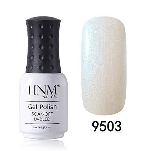 HNM Gel d'Effet Vernis à Ongles 7ML Coquille Oeil de Chat Vernis Semi Permanent Gel Vernis Soak Off UV LED Manucure Nail Art BKJ9503