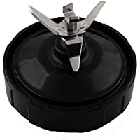 Cuchilla de repuesto para mezclador Ninja de Nutri, 4 pulgadas, 7 aletas, montaje para cuchilla de 1000 W, NutriNinja Auto-iQ BL480 BL482-30 BL682 de Wadoy