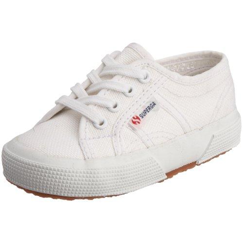 Superga Kinder Classic Schuh (Superga 2750-Bebj baby classic S0005P0, Unisex - Kinder Sneaker, weiss, (white 901 ), 23 EU (6 UK))