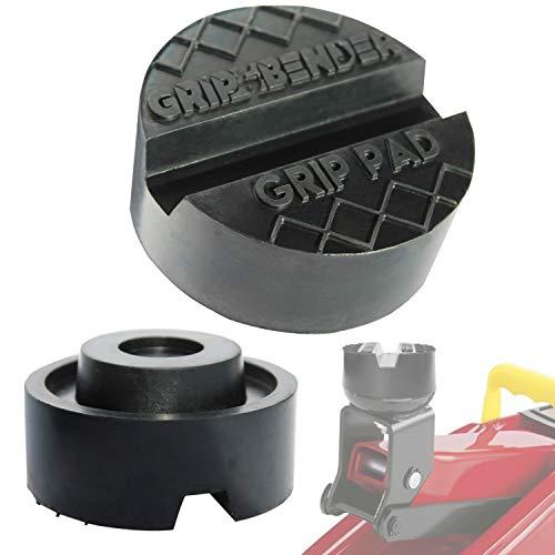 GRIP&BENDER Wagenheber-Gummiauflage für Rangier-Wagenheber | Premium Gummipuffer: ✔Universal-Auflage ✔Super Stark ✔max 3,5t ✔Schützt Ihren Wagen Dank Hightech-Material ✔Sicherer Halt Dank V-Nut