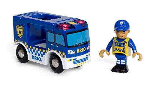 Brio World 33825 Camion de Police Son et Lumière