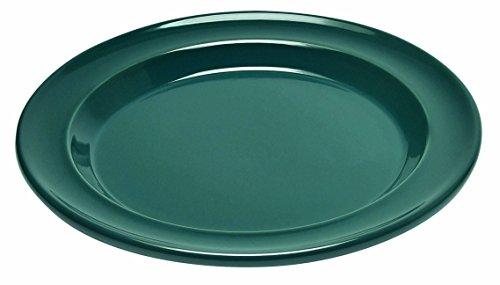 Emile Henry Eh978878 Assiette Plate Bleu Pavot Pavot 28 X 28 X 2,5 cm