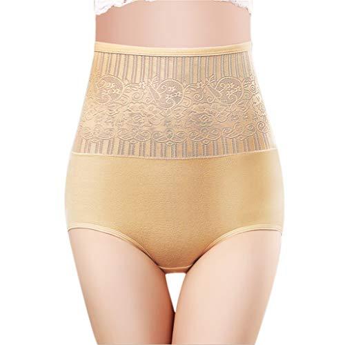 TianWlio Damen Dessous Damen Slip Komfortable Baumwolle Hohe Taille Unterwäsche Frauen Sexy Höschen