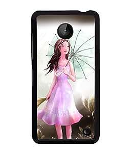 PrintVisa Metal Printed Girly Designer Back Case Cover for Nokia Lumia 630-D4962