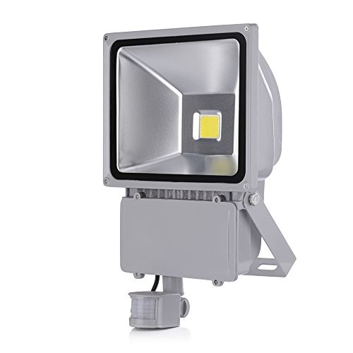 Foco LED 100w con sensor de movimiento IP65