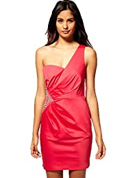 Lipsy Pixie Lott One Shoulder Party Evening Club Prom DR05035 Dress