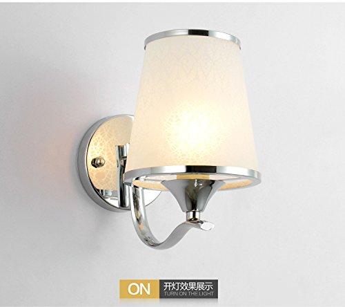 LIYAN minimalistische Wandleuchte Wandleuchte E26/E21022Schlafzimmer Wand lampe Nachttischlampe kreative LED-Wandleuchten Wohnzimmer treppen Flure Wand,828 Single +9 w warmes Licht (828 Licht)