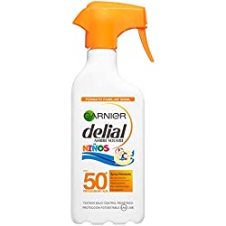 Garnier Delial Kit de Protección Solar Niños: Spray IP50+ y Bruma ...