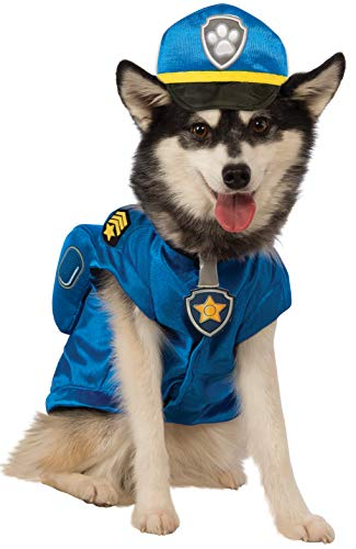 Rubie's Chase - Paw Patrol offizielle Kostüm - Haustier Maskenkostüm - Chase, - Daisy Kostüm Für Hunde